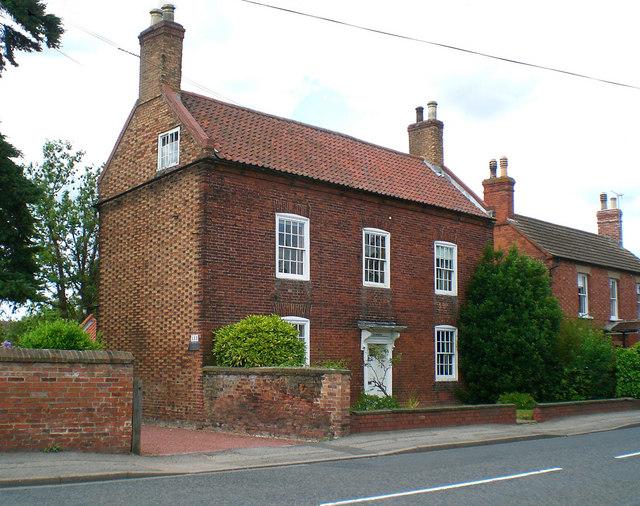 Georgian House In Collingham 169 Stefan Czapski Cc By Sa 2 0