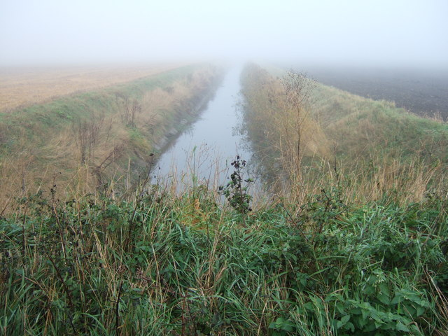 Misty drain, Round House Drove, Tick Fen, Warboys