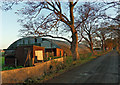 SJ3676 : Curved Roof by J Scott