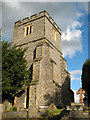 TQ3864 : St John the Baptist, West Wickham: tower by Stephen Craven