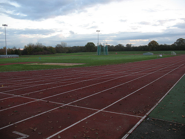 Norman Park athletics track
