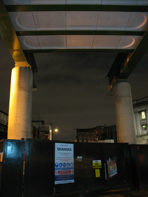 Thameslink viaduct under construction (2)