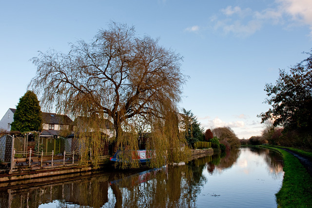 Leeds & Liverpool Canal at Parbold