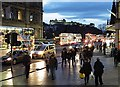NT2573 : Edinburgh in the Gloaming by Anne Burgess
