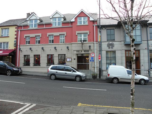 Villa Rose Hotel Ballybofey Kenneth Allen Geograph