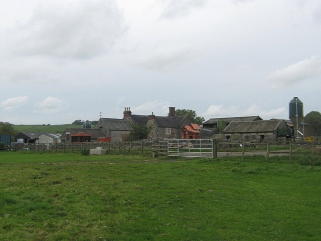 Bassett Wood Farm between Fenny Bentley and Tissington, Derbyshire