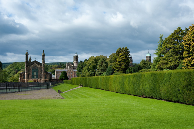 Stonyhurst College and chapel