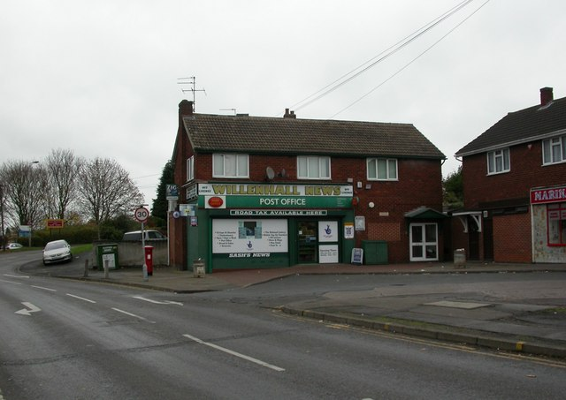 Willenhall, post offic...