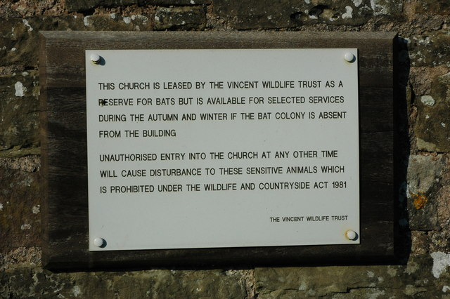 Plaque on Llangovan church