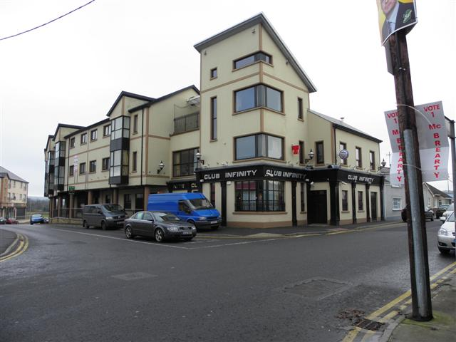 Club Infinity Ballybofey 169 Kenneth Allen Geograph Ireland