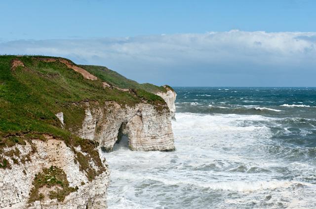 Rough sea at North Landing