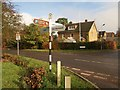 SU9585 : Crossroads, Farnham Common by Derek Harper