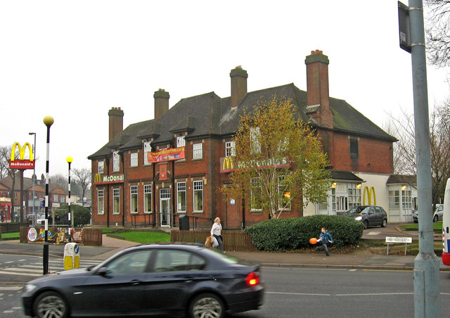 McDonald's (formerly The Broadway) (1), Bordesley Green