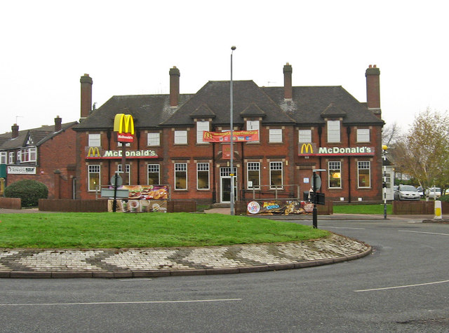 McDonald's (formerly The Broadway) (2), Bordesley Green