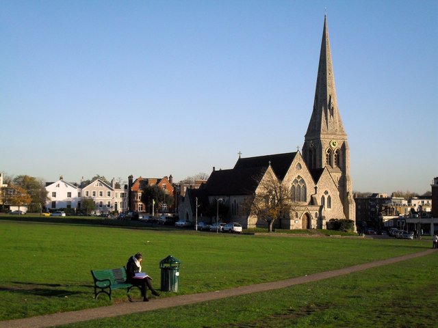 Reading near Blackheath Church.