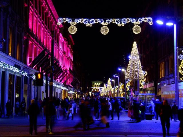 buchanan street christmas lights  u00a9 thomas nugent cc