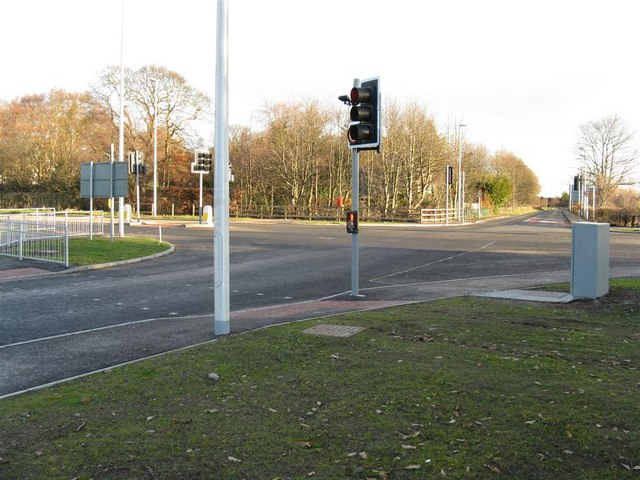 Improved crossroads at Seafield