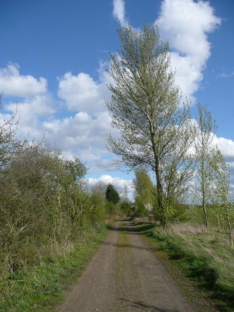 Former Sleaford to Bourne Railway Line