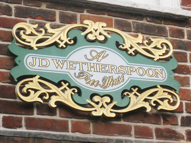 Wetherspoons sign