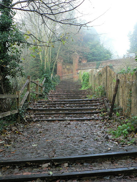 Farnham Castle Steps