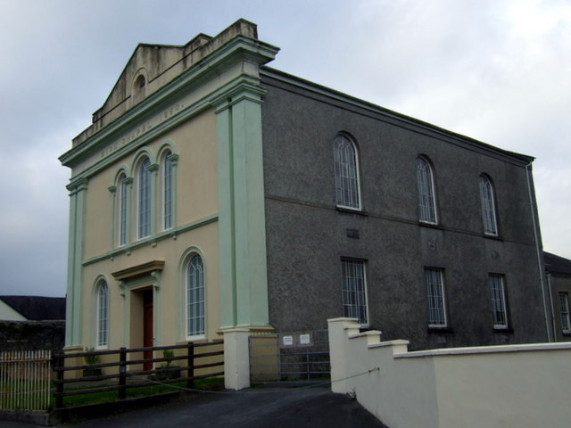 Zion Chapel, side elevation