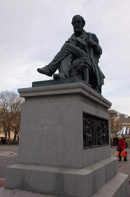 Statue of James Clerk Maxwell, Edinburgh