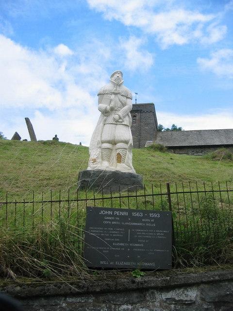 Cofeb John Penry Memorial, Llangamarch
