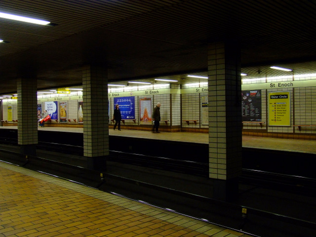 St Enoch subway station