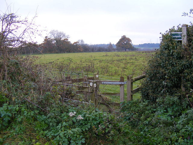 Footpath to Mill Lane &amp; Ash Road