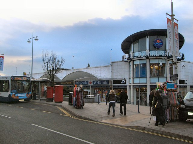 Churchill Square Frontage