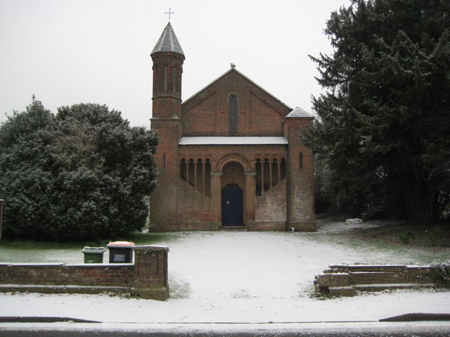East Hyde: The former Holy Trinity Church