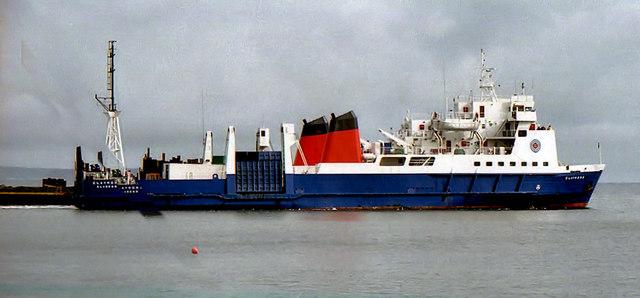 Ferry From Ballycastle To Raithan Island