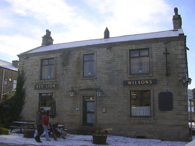 """The Red Lion Hotel"" (Pub) 6 Halifax Road, Littleborough, Lancashire OL15 0HB"