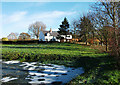 SJ5464 : Fishergreen Farm near Tarporley by michael ely