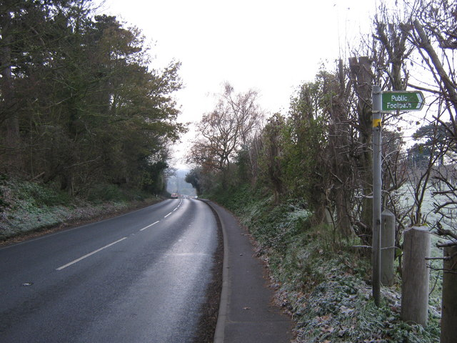 Footpath on Gobery Hill