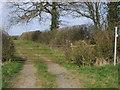 SP6530 : Bridleway to Tingewick by Shaun Ferguson