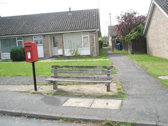 Seat in Lansbury Road