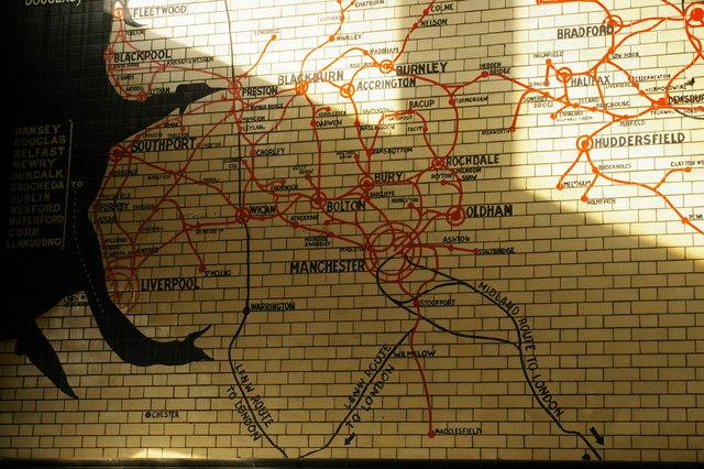 Victoria Station Manchester Lancashire C