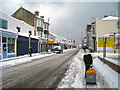 TQ8109 : Snowy Queen's Road by Oast House Archive