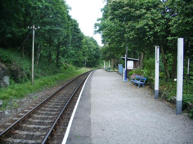 Newby Bridge Station