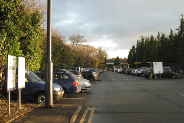 Dorridge station car park