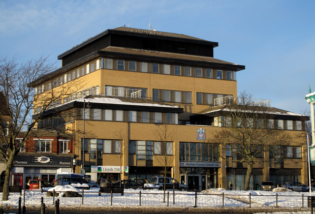 Offices of Durham County Council in Crook