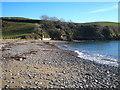 SW7827 : Porth Sawsen beach by Rod Allday