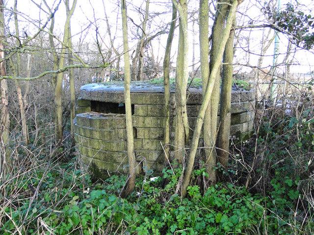 WW1 pillbox at Reydon