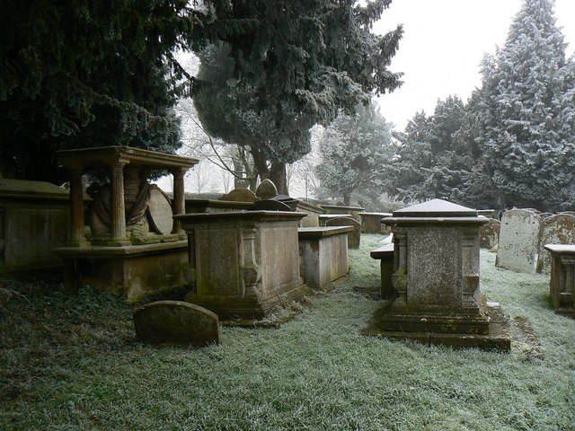 Graves, Parish Church of St John and St Helen, Church Hill, Wroughton, Swindon