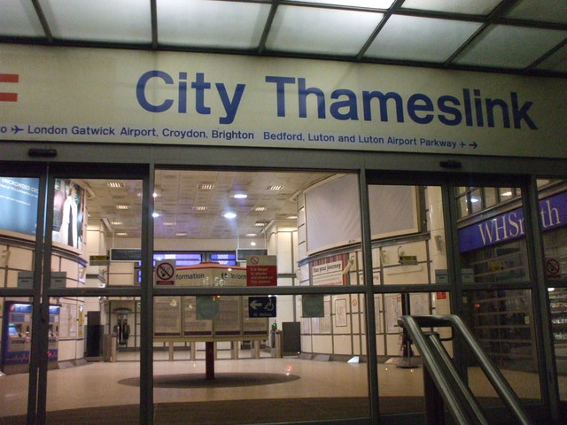 City Thameslink Station Ec4 Phillip Perry Geograph