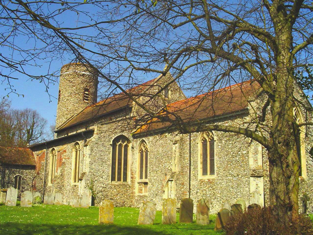 Bradwell St Nicholas' church