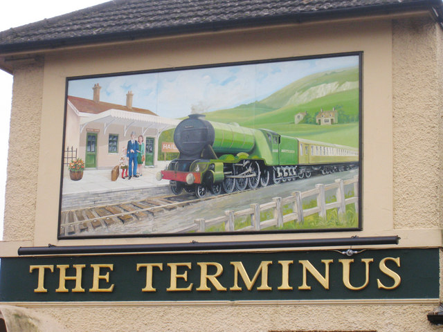 The Terminus sign