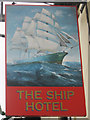 TR0624 : The Ship Hotel sign by Oast House Archive