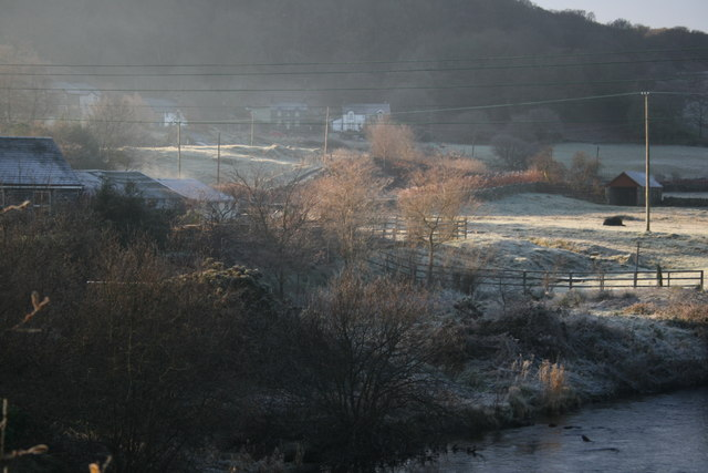 Frost on the fields